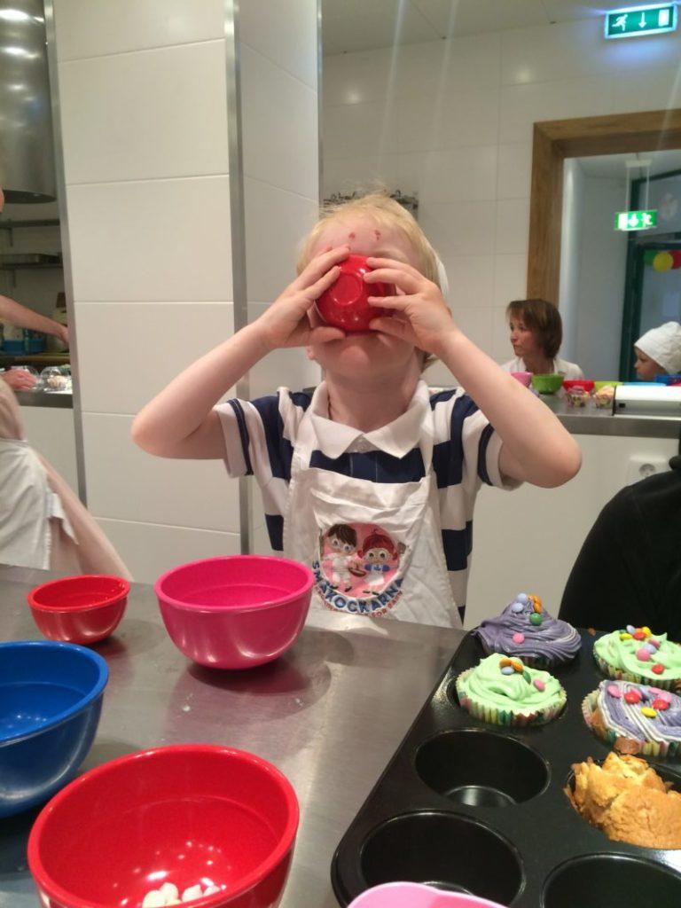Några föredrog sitt strössel utan cupcakes. ;)